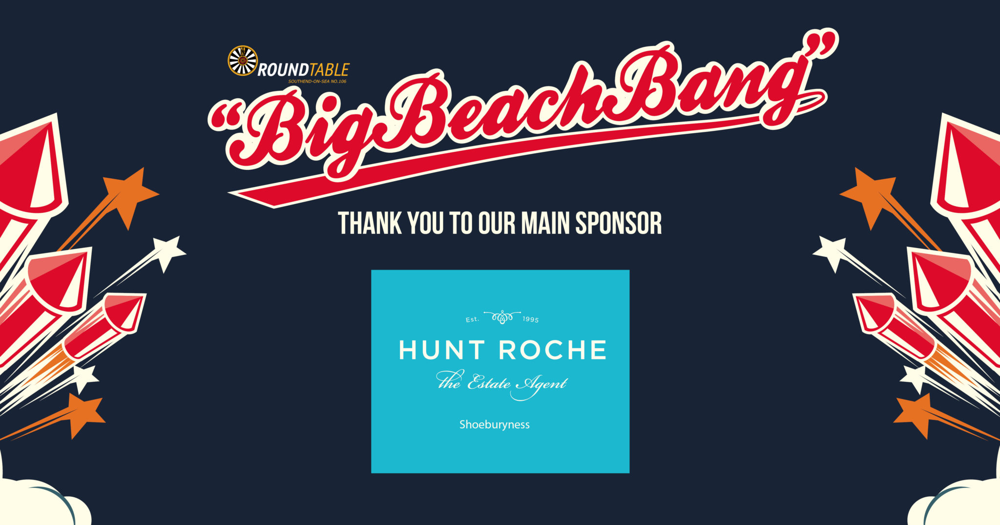 Big Beach Bang Sponsor 2018